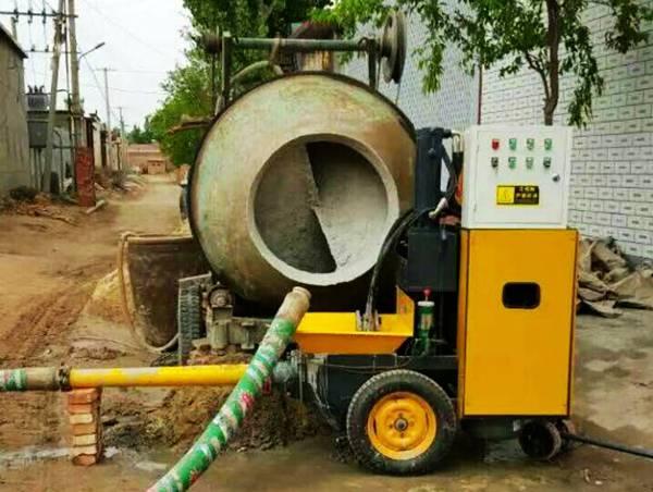 二次构造柱泵