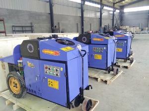二次构造柱泵生产现场